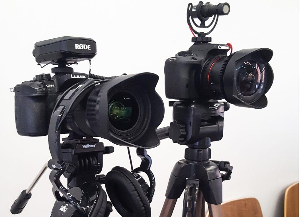 снимане с няколко камери